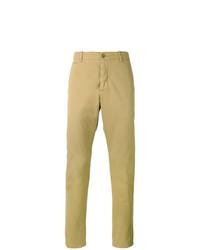 Pantalón chino marrón claro de YMC