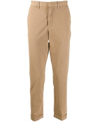 Pantalón chino marrón claro de Z Zegna