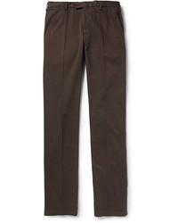 Pantalón Chino Marrón Oscuro