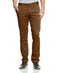 Pantalón chino marrón de Boss Orange