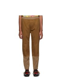 Pantalón chino marrón de Gucci