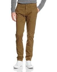 Pantalón chino marrón de Harmont & Blaine