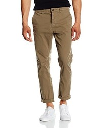 Pantalón chino marrón de ONLY & SONS