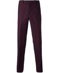 Pantalón Chino Morado Oscuro de Alexander McQueen