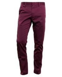 Pantalón Chino Morado Oscuro de Calvin Klein