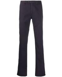 Pantalón chino morado oscuro de Canali