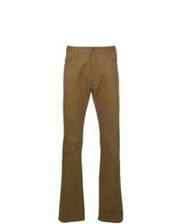 Pantalón chino mostaza de Emporio Armani