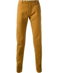 Pantalón chino mostaza de Fendi