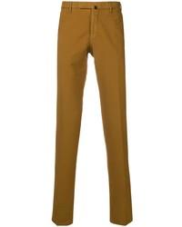 Pantalón chino mostaza de Incotex