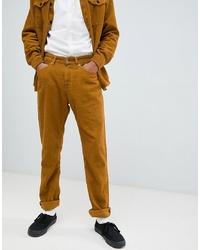 Pantalón chino mostaza de Kings Of Indigo
