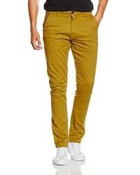 Pantalón chino mostaza de SPRINGFIELD