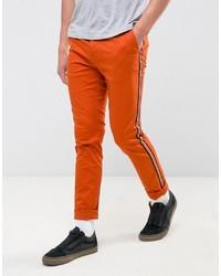 Pantalón Chino Naranja de Asos