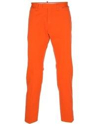 Pantalón chino naranja de DSquared