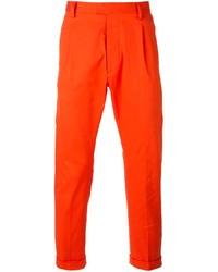 Pantalón chino naranja de DSQUARED2