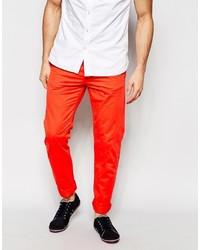 Pantalón chino naranja de Esprit