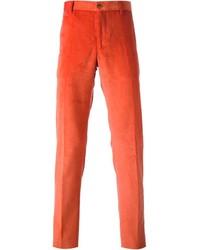 Pantalón chino naranja de Etro