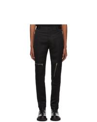 Pantalón chino negro de Alexander McQueen