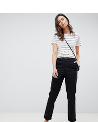 Pantalón chino negro de Asos Tall