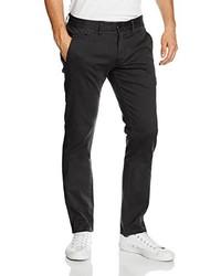 Pantalón chino negro de Hilfiger Denim