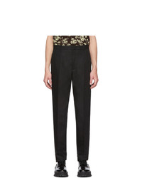 Pantalón chino negro de Jil Sander
