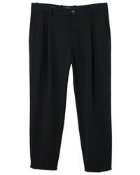 Pantalón chino negro de Mango