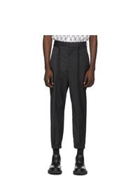 Pantalón chino negro de Neil Barrett