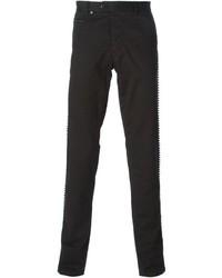 Pantalón chino negro de Philipp Plein