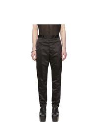 Pantalón chino negro de Rick Owens