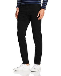 Pantalón chino negro de Scotch & Soda