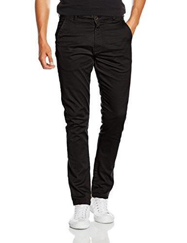 Pantalón chino negro de SPRINGFIELD