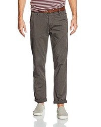 Pantalón Chino Negro de Tom Tailor Denim