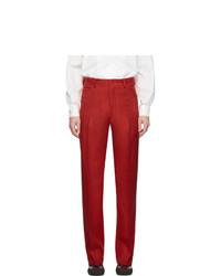 Pantalón chino rojo de Random Identities