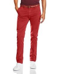 Pantalón chino rojo de Scotch & Soda
