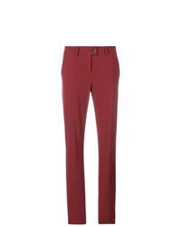 Pantalón chino rojo de Tomas Maier