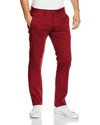 Pantalón chino rojo de Tommy Hiliger
