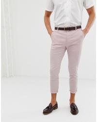 Pantalón chino rosado de ASOS DESIGN