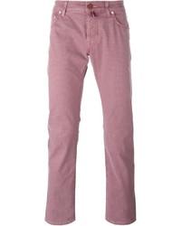 Pantalón chino rosado de Jacob Cohen