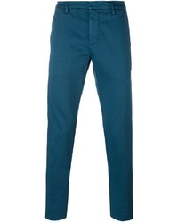Pantalón Chino Verde Azulado