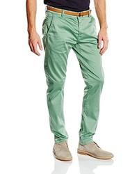Pantalón Chino Verde Menta de Tom Tailor