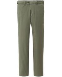 Pantalón chino verde oliva