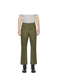 Pantalón chino verde oliva de Acne Studios