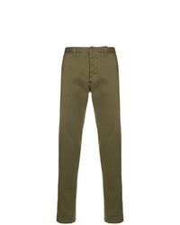 Pantalón chino verde oliva de AMI Alexandre Mattiussi