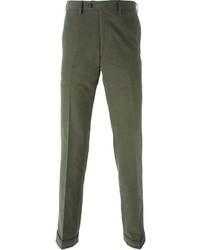 Pantalón chino verde oliva de Brioni