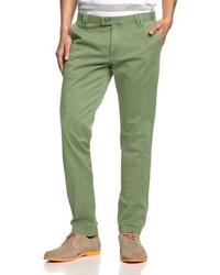 Pantalón chino verde oliva de Cinque