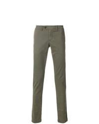 Pantalón chino verde oliva de Eleventy