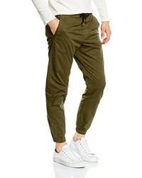 Pantalón chino verde oliva de Jack & Jones
