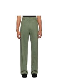Pantalón chino verde oliva de Random Identities