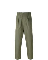 Pantalón chino verde oliva de Valentino