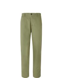 Pantalón chino verde oliva de YMC