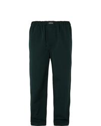 Pantalón chino verde oscuro de Balenciaga